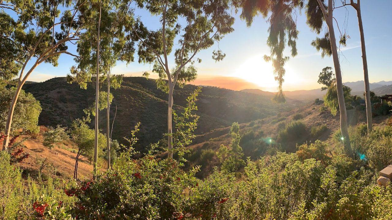 Sunset View of Meditation Mount